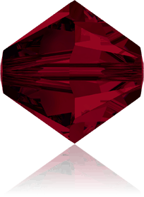 5301/5328 - 8mm Swarovski Bicone Crystal Bead - Siam