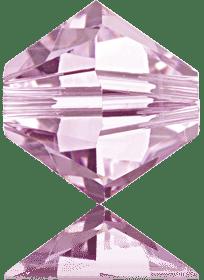 5301/5328 - 8mm Swarovski Bicone Crystal Bead - Rosaline
