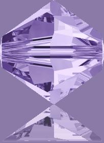5301/5328 - 8mm Swarovski Bicone Crystal Bead - Tanzanite