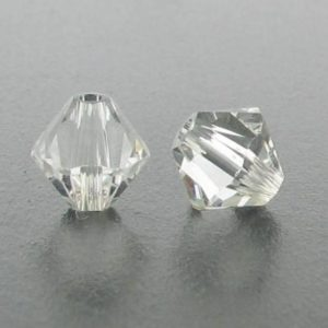5301/5328 - 6mm Swarovski Bicone Crystal Bead - Crystal