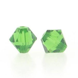5301/5328 - 6mm Swarovski Bicone Crystal Bead -Fern Green