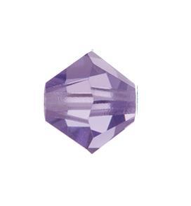 5301/5328 - 6mm Swarovski Bicone Crystal Bead - Tanzanite