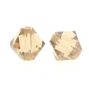 5301/5328 - 6mm Swarovski Bicone Crystal Bead - Light Colo.Topaz