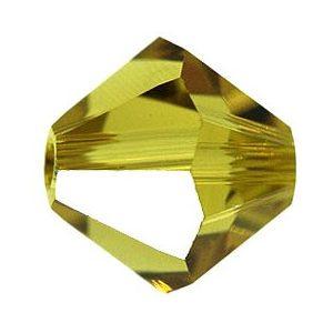 5301/5328 - 8mm Swarovski Bicone Crystal Bead - Lime