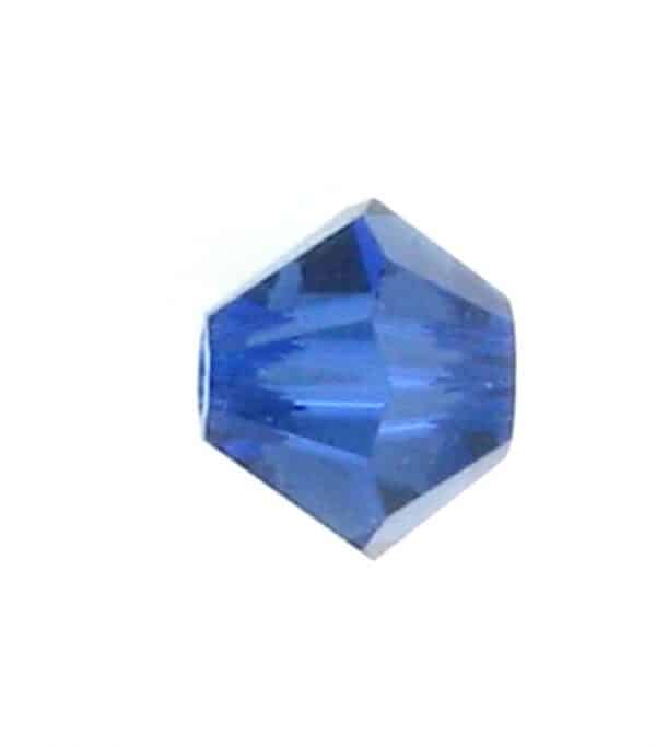 5301/5328 - 5mm Swarovski Bicone Crystal Bead - Dark Sapphire