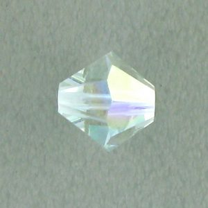 5301/5328 - 6mm Swarovski Bicone Crystal Bead - Light Azore AB
