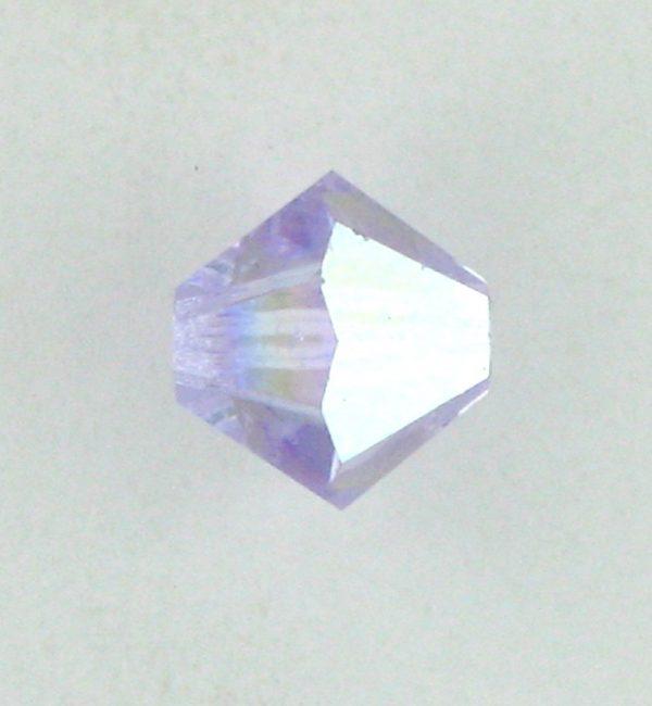 5301/5328 - 6mm Swarovski Bicone Crystal Bead - Violet AB