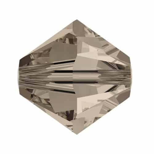 5301/5328 - 5mm Swarovski Bicone Crystal Bead - Greige